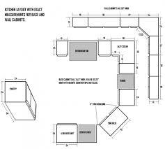 kitchen cabinet standard dimensions cabinets layout wood tikspor