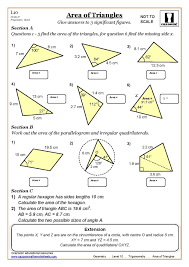 Worksheet Works Calculating Area And Perimeter Answers Ks3 U0026 Ks4 Maths Worksheets Printable Maths Worksheets With Answers