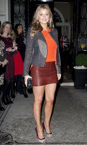 Holly Valance Measurements Or Not Holly Valance Wears Brown Mini For Faberge Egg Hunt Party