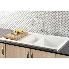 RAK Ceramics Dream Kitchen Sink DSINK  Bowl White - Gourmet kitchen sinks
