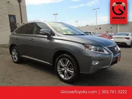 lexus rx hybrid 2015 used 2015 lexus rx 350 for sale denver co g4030040a