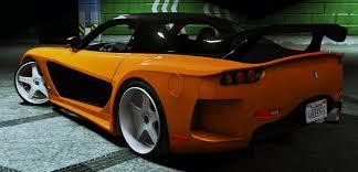 mazda rx7 fast and furious fnf tokyo drift 1997 mazda rx 7 veilside fortune gta5 mods com