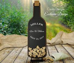 wine bottle wedding guest book wine bottle wedding guest book drop box wooden hearts guest