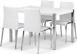 When White Leather Dining Chairs Elegant Interesting Dining Room Chairs For Dining Room