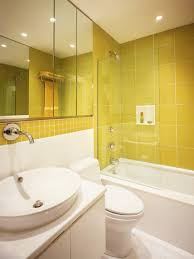 Gray And Yellow Bathroom by Full Bathrooms Hgtv