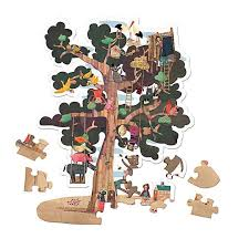londji my tree reversible sided jigsaw puzzle 70cm
