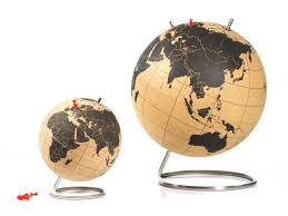 Globus Cork Reviews by Cork Globe Mark Out Your Trip Around The World Coolstuff Com