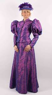 purple wizard costume bespoke theatrical quality victorian and edwardian fancy dress