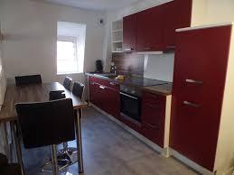 lave cuisine cuisine avec lave vaisselle et machine à laver sous evier frigo