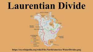 Continental Divide Map Laurentian Divide Youtube