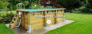 Verriere Pour Piscine Piscine Hors Sol Bois Ouessant Bleu Ubbink L 3 5 X L 2 X H 0 71 M