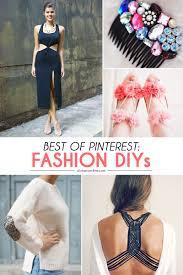 pinterest u0027s best fashion diy projects diy fashion projects