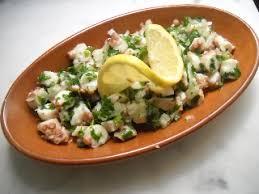 cuisiner le poulpe recettes recette salade de poulpe