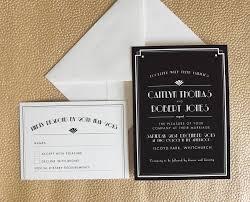 Art Deco Wedding Art Deco Wedding Invite 1803