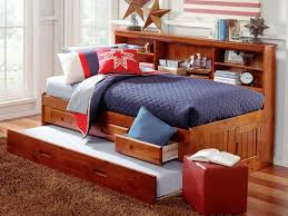 bedroom awesome bedroom trundle beds for queen daybed with brown
