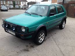 1991 volkswagen vw golf country syncro 4x4 lhd project rare