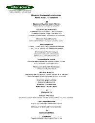 photo bridal shower food menu bridal image