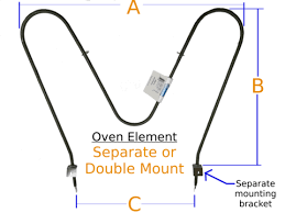 oven element bake separate mount u2013 tyree parts and hardware