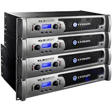 subwoofer power amplifier for home theater crown xls 2500 power amplifier 2 x 775w at 4 ohms