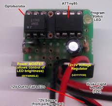 how to make custom led tail lights custom led tail lights hacked gadgets diy tech blog