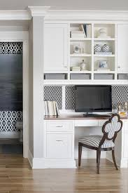desk in kitchen ideas lovely kitchen features a built in desk with wood top inset