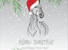 card templates horse christmas cards engaging horse