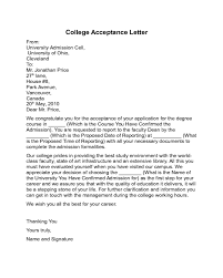 How Does College Acceptance Letter Look Like College Acceptance Letter Sle Edit Fill Sign Handypdf