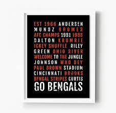 cincinnati bengals subway poster u2013 sproutjam
