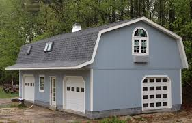 gambrel roof garages your garage solution delivery installation