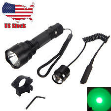 night hunting lights for scopes rifle hunting weapon lights ebay