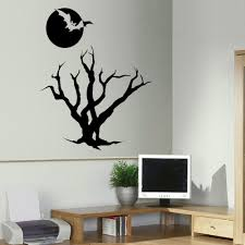 Lighted Halloween Trees Fascinating Diy Halloween Wall Art Wall Decals Mickey Mouse Design