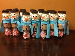 nobby christmas baby food jar crafts picturesque diy snowman jars
