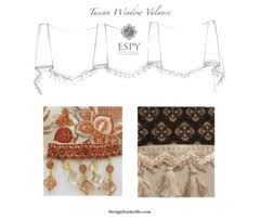 Tuscan Valance Exclusive Window Treatments