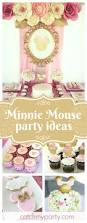 Pink And Black Minnie Mouse Decorations 1129 Best Minnie Mouse Party Ideas Images On Pinterest Birthday