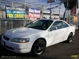 99 honda accord ex coupe 1999 taffeta white honda accord ex v6 coupe 24588984 gtcarlot
