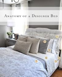 Bed Making Anatomy Of A Bed Pottery Barn And Catalog
