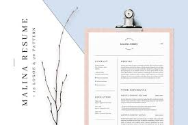Resume Templates For Marketing Resume Templates Creative Market