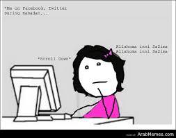 Arab Memes Tumblr - how it feels to fast during ramadan