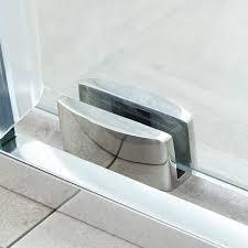 Shower Door Bottom Guide 48 Dorsey Frameless Sliding Shower Door Bathroom