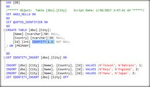 Tsql Alter Table Add Column Working With Identity Column After Table Creation In Sql Server
