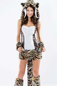 Deluxe Womens Halloween Costumes Deluxe Halloween Tooth Tiger Costume