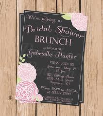 brunch invitation sle bridal shower invitations astonishing bridal shower brunch