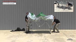 Quik Shade Summit 10x10 Instant Canopy by 10 U0027x10 U0027 Fast Shade Pop Up Canopy Setup Instructions Youtube