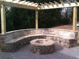 Flagstone Firepit Paver Patio Flagstone Firepit Installation Traditional