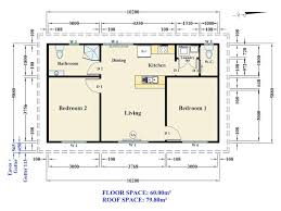 Two Bedroom Granny Flat Floor Plans Our Instant Build Pricing Calculator