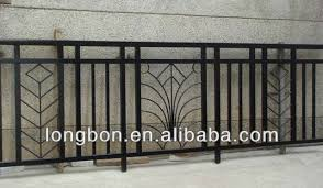 top selling wrought iron balcony fence railing for home view