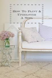 how to reupholster a sofa how to paint and upholster a sofa shabbyfufu