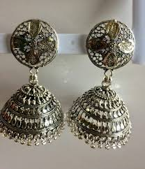 jhumka earring buy swanklet fashion trendy jhumka earring for and women