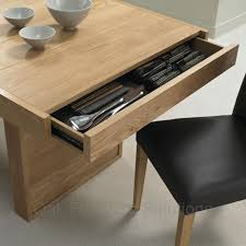 An Uncommon Storage Space The Dining Table Core - Kitchen table with drawer