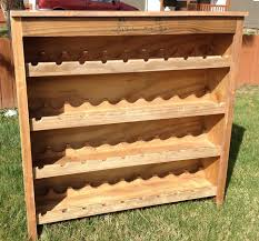 ana white rustic wine rack diy projects